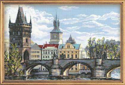 1058 «Прага. Карлов мост»