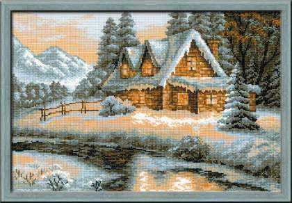 1080 «Зимний пейзаж»