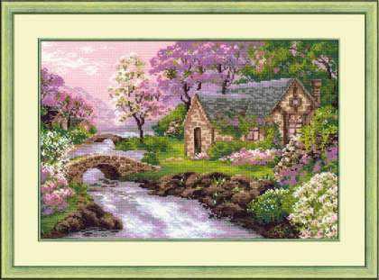 1098 «Весенний пейзаж»