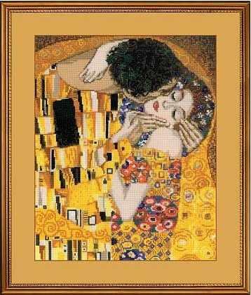 """1170 """"Поцелуй"""" по мотивам картины Г.Климта"""