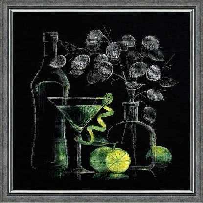 """1240 """"Натюрморт с мартини"""""""