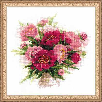 1259 «Пионы в вазе»