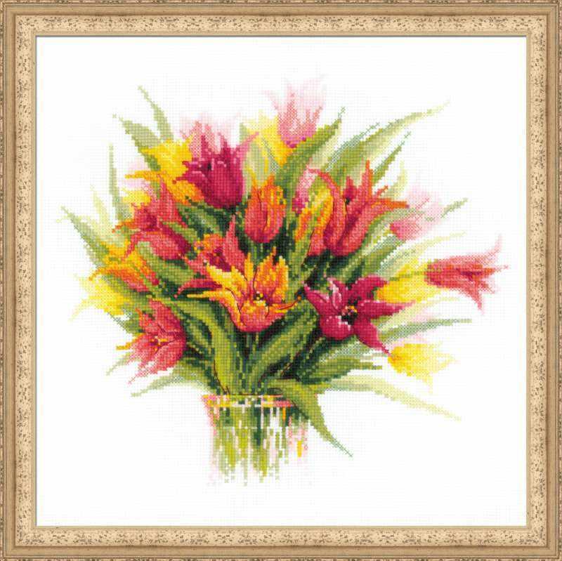 """1293 """"Тюльпаны в вазе"""""""