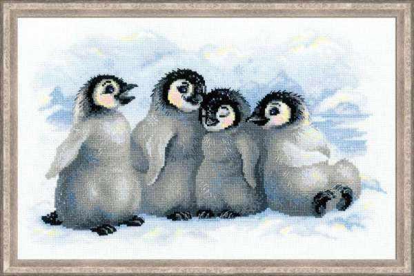 """1323 """"Забавные пингвины"""""""
