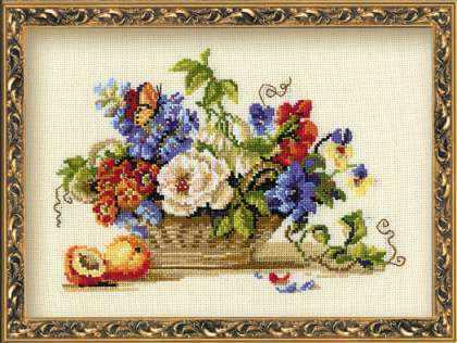 864 «Натюрморт с персиком»