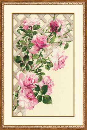 898 «Розовые розы»