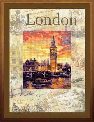 """РТ0019 """"Города мира. Лондон"""""""