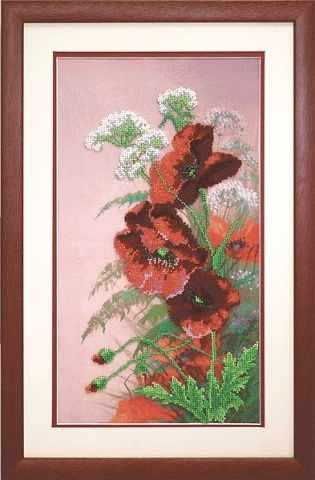 """Б-510 """"Полевые цветы"""" - чм"""