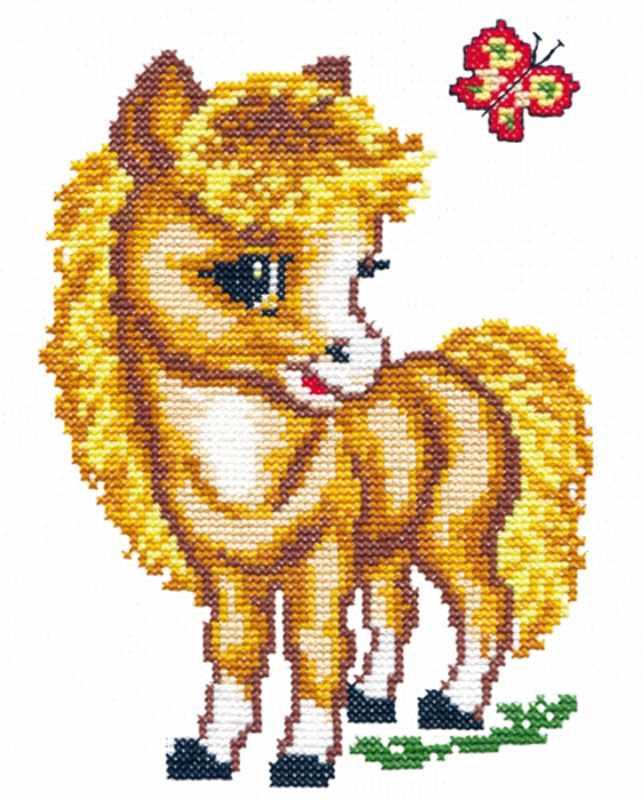 18-02 Веселая лошадка