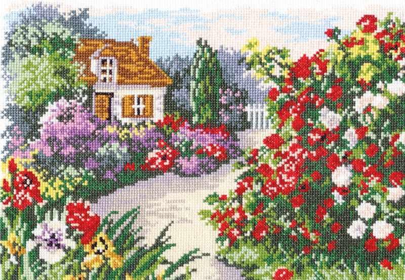 52-03 Цветущий сад