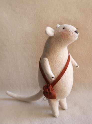 M001 Mouse story набор для изготовления игрушки