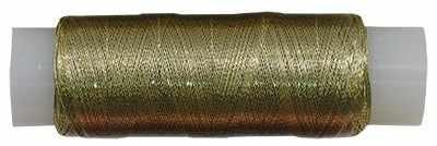 Нитки металлизированные MY-02 100м св.золото