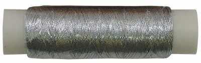 Нитки металлизированные MY-02 100м серебро
