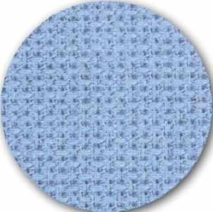 Канва Zweigart 3793 FineAIDA(100% хлопок) цвет 503-голубая, шир 110 18ct-70кл/10см