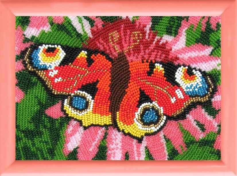 930 Павлиний глаз - схема для вышивания (Butterfly)