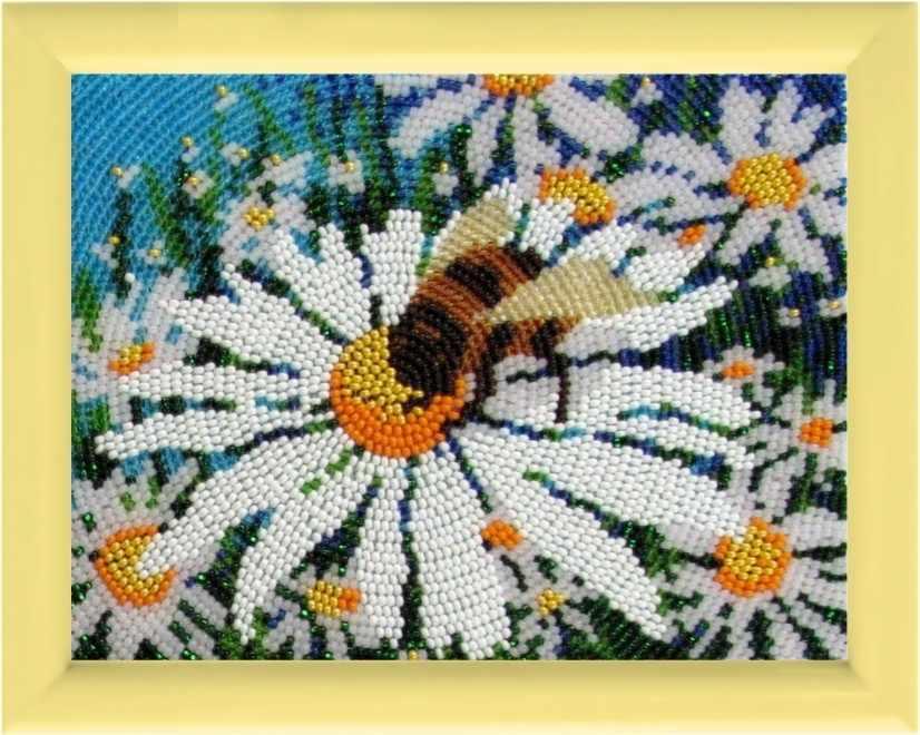 935 Ромашки - схема для вышивания (Butterfly)