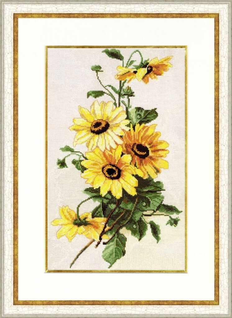 БР-014 Солнечные цветы. Блеск росы
