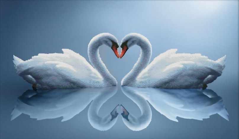 7075-3D Отражение любви