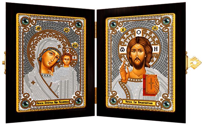 СМ 7000 Богородица Казанская и Христос Спаситель