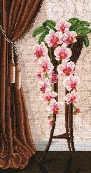 В-13 Ваза с орхидеями