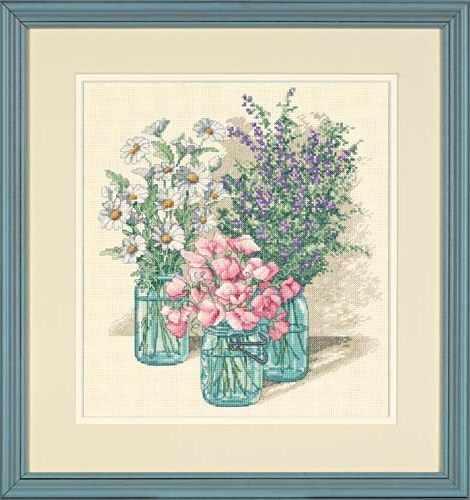 35122-DMS Трио полевых цветов