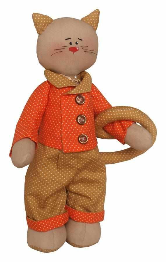 C002 Cats story набор для изготовления игрушки