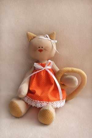 C001 Cats story набор для изготовления игрушки