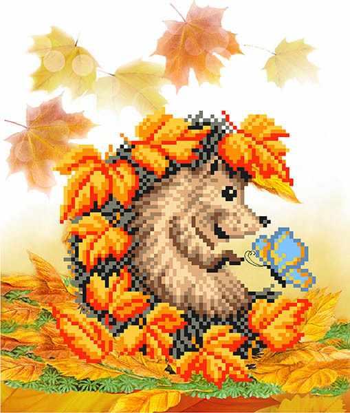 4116 Осенняя встреча - схема для вышивания (Матрёнин посад)
