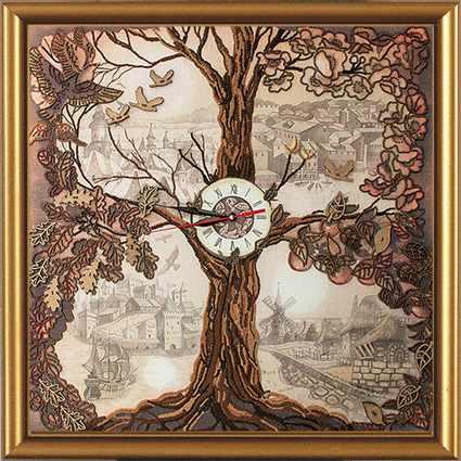 ЕМ 1001 Дерево часы