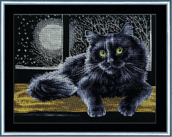 К-009 Черный кот. Кошки