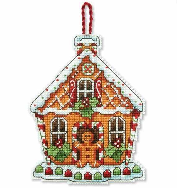 8917-DMS Пряничный домик (украшение)