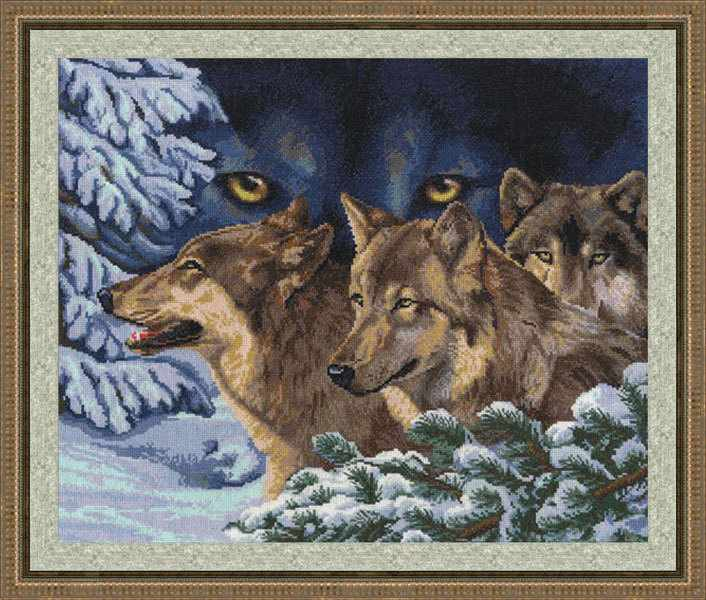 ДЖ-018 Волчий взгляд. Дикие животные