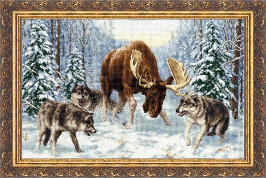 ДЖ-013 Встреча в лесу. Дикие животные