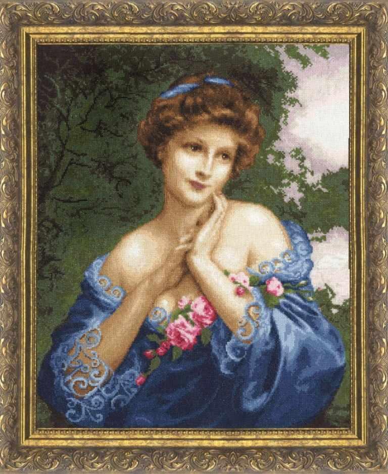 МК-011 Летняя роза. Музейная коллекция