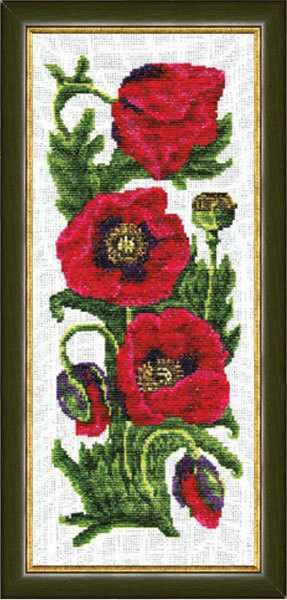 ЦК-004 Маки. Цветочная коллекция