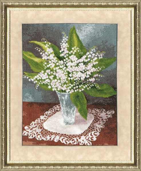 ЛЦ-020 Ландыши. Любимые цветы