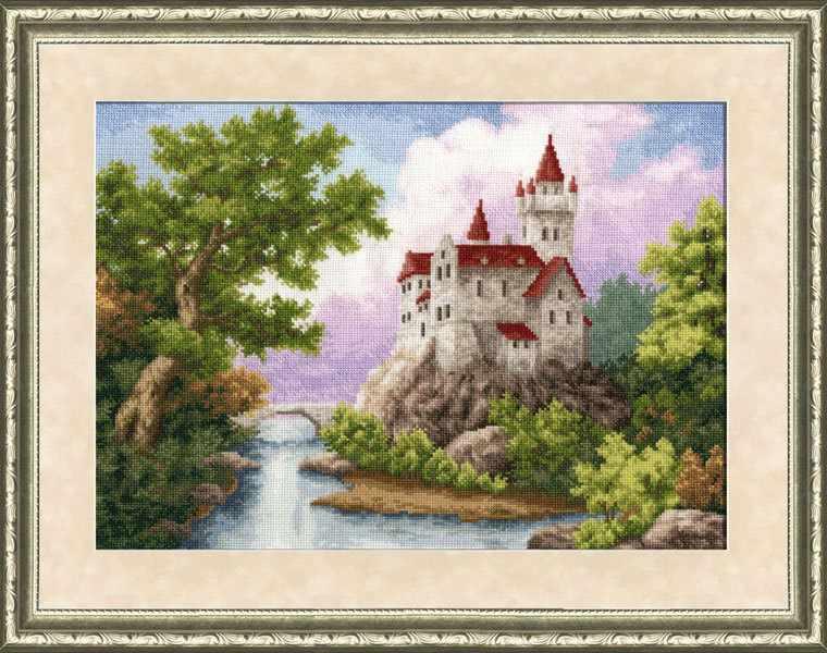 ЛП-015 Замок. Лирический пейзаж