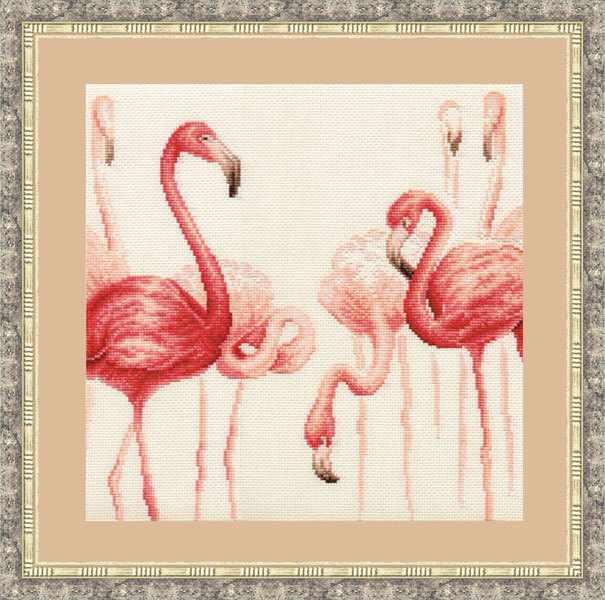 Ф-003 Фламинго. Набор №2