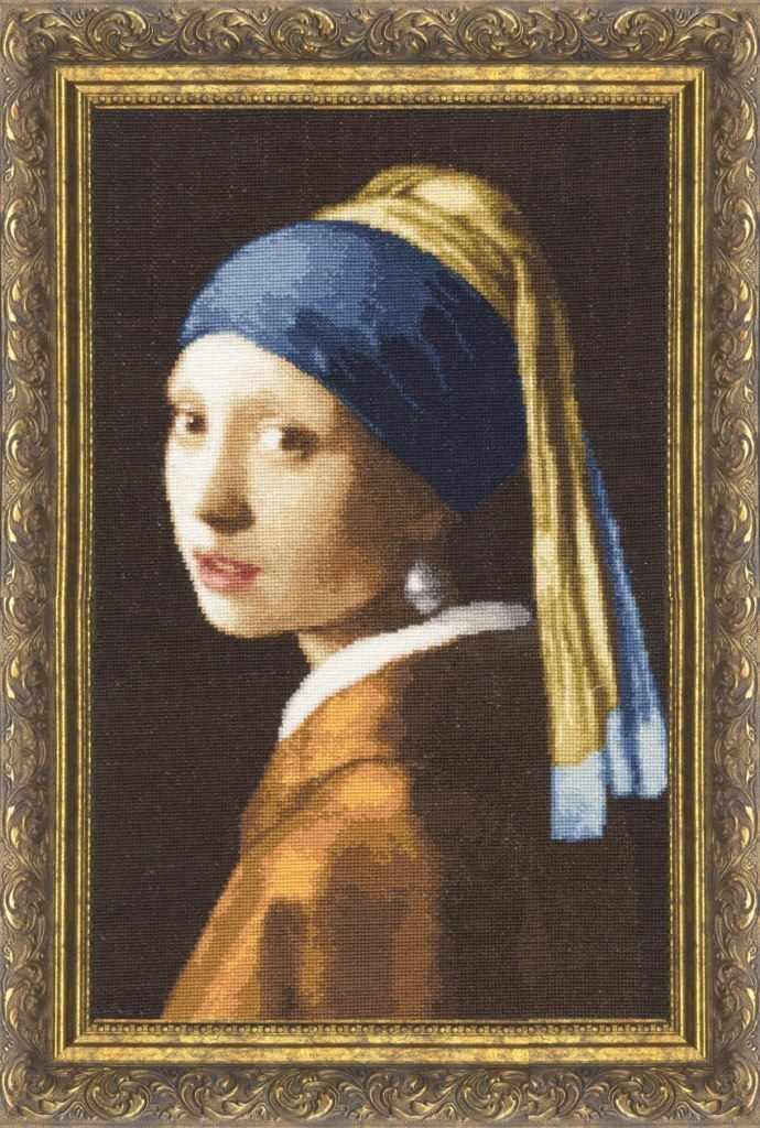 МК-021 Девушка с жемчужной сережкой. Музейная коллекция