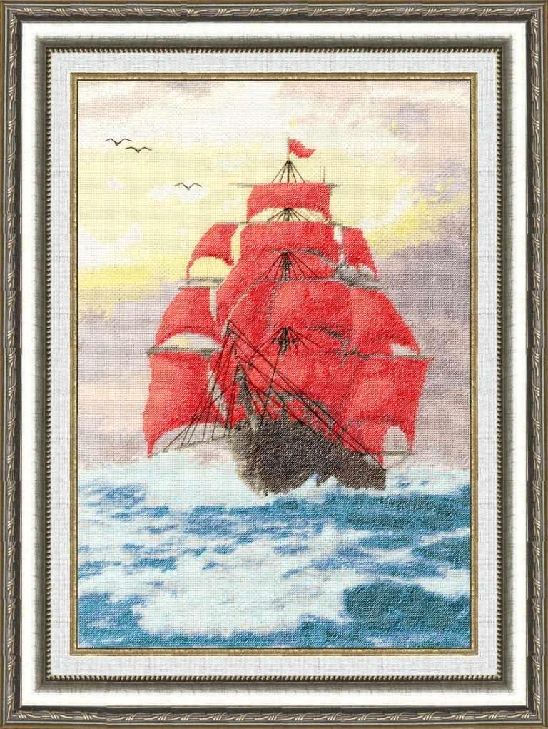 ММ-015 Алые паруса. Морские мотивы