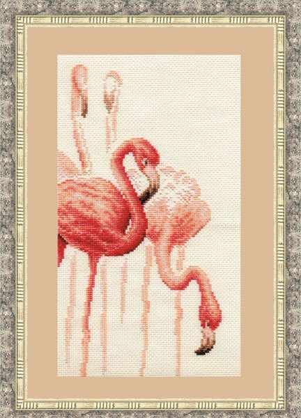 Ф-002 Фламинго. Набор №1. Фламинго