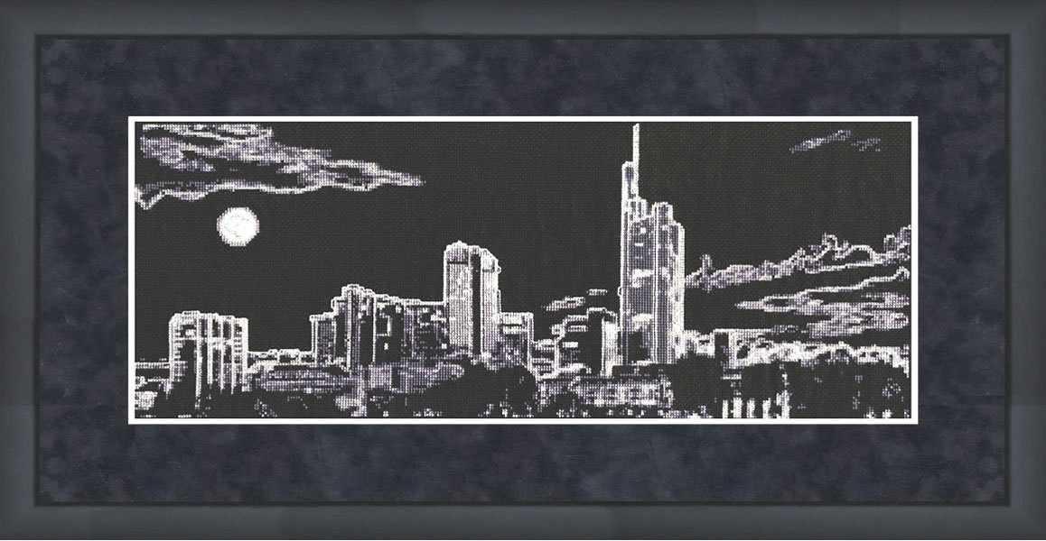 С-007 Ночной город. Силуэты