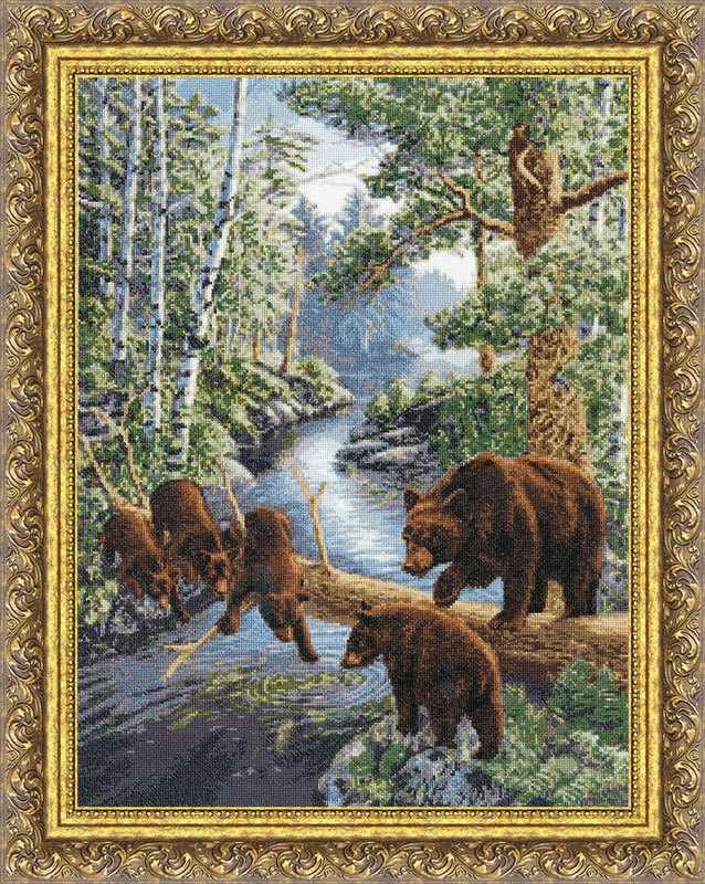 ДЖ-035 Медвежий край. Дикие животные