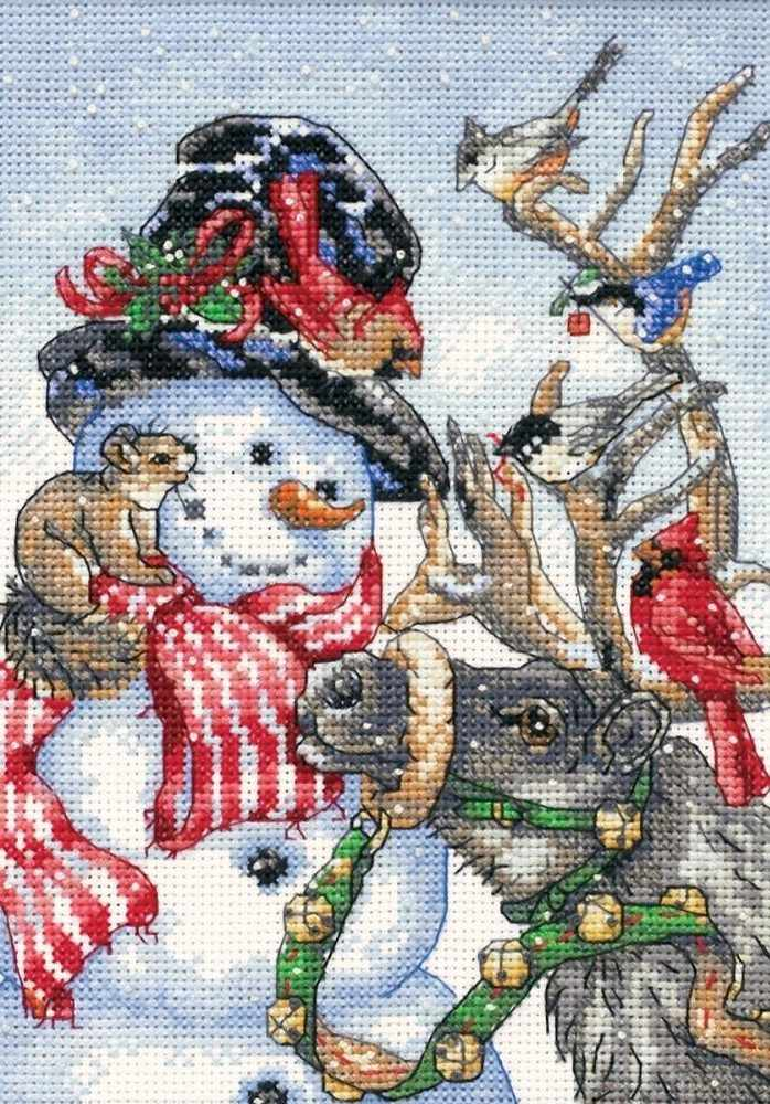 8824 DMS Snowman and Reindeer