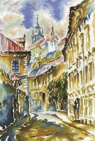 M361 Акварельная Прага