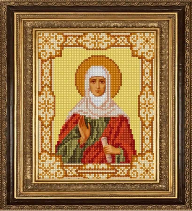 НИК 9169 Св. Анна - схема для вышивания (Конёк)