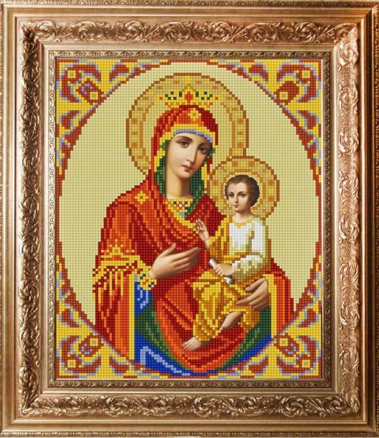НИК 9213 Богородица Скоропослушница - схема для вышивания (Конёк)