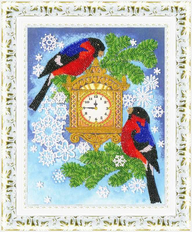 РТ-082 С Новым годом! Рисунок на ткани