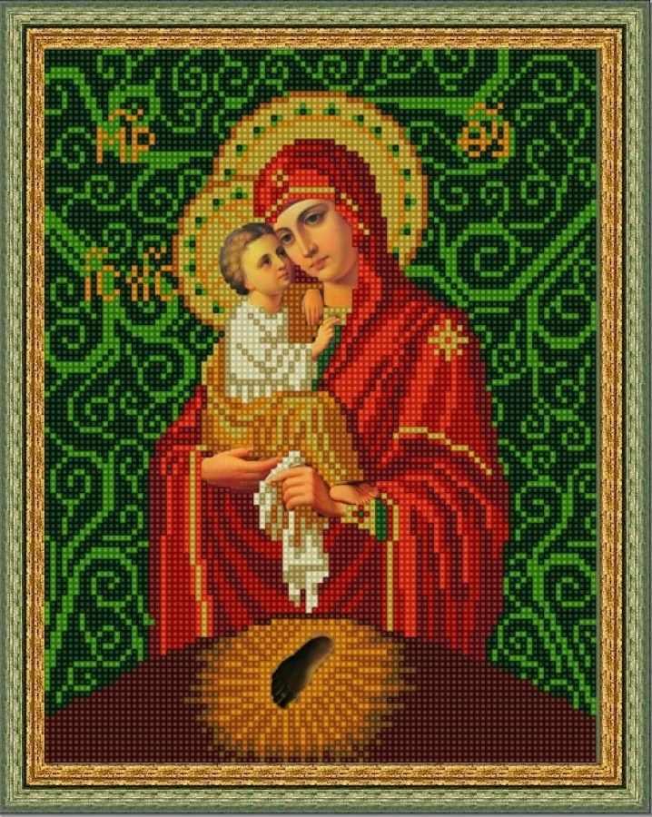 НИК 9215 Богородица Почаевская - схема для вышивания (Конёк)