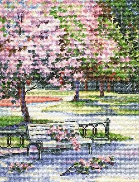 M486 Весной в парке